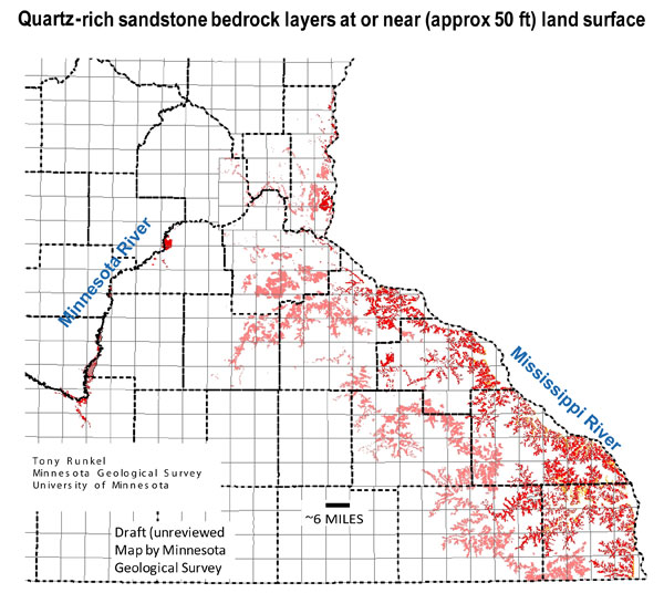SandPoint Times The Basics of Frac Sand Mining Geology